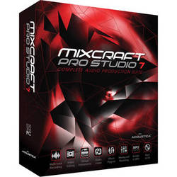 Acoustica Mixcraft Pro Studio 7 - Multi-Track Recording and Performance Software