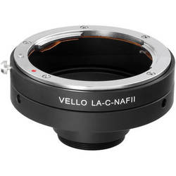 Vello Nikon F Lens to C-Mount Camera Adapter