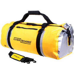 OverBoard Classic Waterproof Duffel Bag (60L, Yellow)