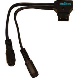 """IndiPRO Tools P-Tap Cable to Two Female 2.5mm Power Adaptors (7"""")"""