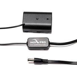 IndiPRO Tools 2.5mm DC Power Cable to Regulated GH4 / GH3 Dummy Battery (2')