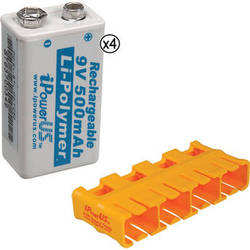 iPower Li-Polymer Battery Kit (9V, 500mAh)