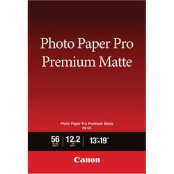 "Canon PM-101 Photo Paper Pro Premium Matte (13 x 19"", 50 Sheets)"