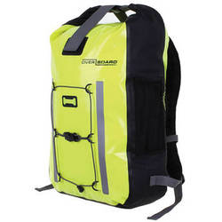 OverBoard Pro-Vis Waterproof Backpack (30L, High Visibility Yellow)