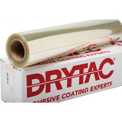 "Drytac Facemount Pressure-Sensitive Mounting Adhesive (25"" x 150' Roll, 1 mil)"