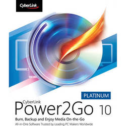 CyberLink Power2Go 10 Platinum (Boxed)