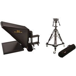 "ikan 17"" Rod Based Teleprompter for 15mm Rods and Pedestal System"