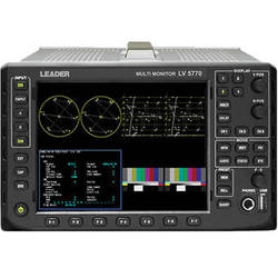 Leader LV5770A Waveform Monitor for 3G/HD/SD SDI Signals with SDI Input Card