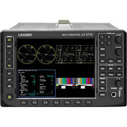 Leader LV5770AE Waveform Monitor for 3G/HD/SD SDI Signals with Eye/Jitter Pattern Option