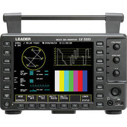 "Leader LV5333 6.5"" 3G/HD/SD-SDI Portable Waveform Monitor"