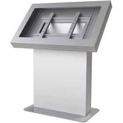 """Peerless-AV KIL542-S Landscape Kiosk Enclosure for 42"""" Displays (Silver)"""