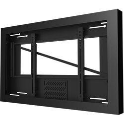 "Peerless-AV KIL646 Wall Kiosk Landscape Enclosure for 46"" Displays (Black)"