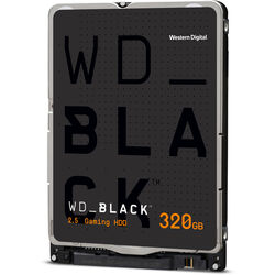 WD 320GB WD Black Mobile OEM Hard Drive (WD3200LPLX)