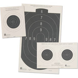 """Hoppes 10.5x12"""" Slow Fire Tag Competition Pistol Targets (25yd, 20/pack)"""