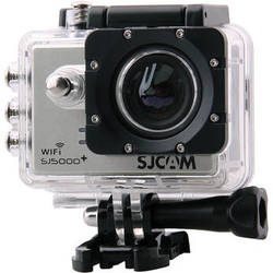 SJCAM SJ5000 Plus HD Action Camera with Wi-Fi (Silver)
