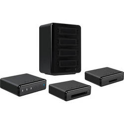 Lexar Professional Workflow HR1 Hub with SDHC/SDXC/CF Card Reader and 256GB Data Storage Kit