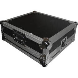 ProX Flight Case For Akai APC40 Controller with Laptop Shelf (Silver-on-Black)