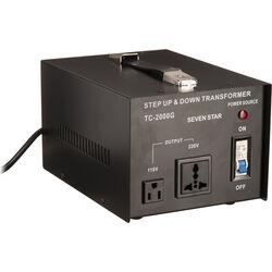 Sevenstar TC-2000 Step Up/Step Down Transformer (2,000W)