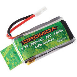 DROMIDA 390mAh 1S 3.7V LiPo Battery for KODO Quadcopter