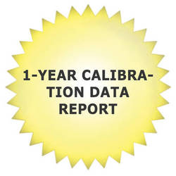 Tektronix 1-Year Calibration Data Report for ECO8000 Automatic Changeover Unit