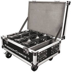 CHAUVET Freedom Charge 9 Rolling Case (Black)