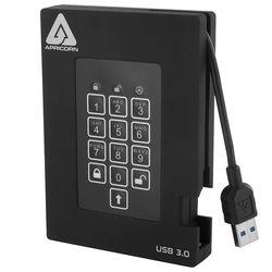 Apricorn 1TB Aegis Padlock Fortress FIPS 140-2 USB 3.0 Hard Drive with PIN Access