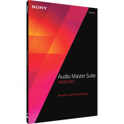 Sony Audio Master Suite 2 - Waveform and Spectral Editing Software Bundle (Download)
