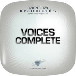 Vienna Symphonic Library Voices Complete - Vienna Instrument (Full Library, Download)