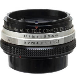 Other Brand 2X Manual Focus Teleconverter for Canon FD