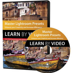 Peachpit Press DVD: Master Lightroom Presets Learn by Video: Enhance Your Creativity and Increase Efficiency