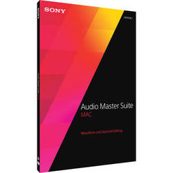 Sony Audio Master Suite Mac 2 - Waveform and Spectral Editing Software Bundle for OS X (Download)