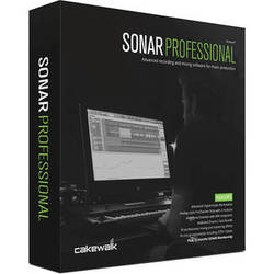 Cakewalk SONAR Professional - Recording, Mixing, Mastering Software (Educational Discount)