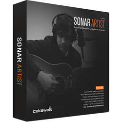 Cakewalk SONAR Artist - Recording, Mixing, Mastering Software