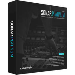 Cakewalk SONAR Platinum - Recording, Mixing, Mastering Software