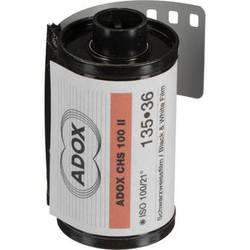Adox CHS 100 II Black and White Negative Film (35mm Roll Film, 36 Exposures)
