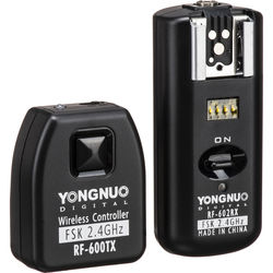 Yongnuo RF-602C Wireless Flash Trigger Set for Select Canon Cameras