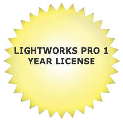 Lightworks Pro Professional Video Editing Software (1-Year Subscription, Download)