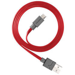 Ventev Innovations Chargesync Micro-USB Cable (Red, 3.3')