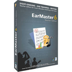 EarMaster EarMaster Pro 6 - Sight-Singing and Ear Training Software (Download, Teacher Edition)