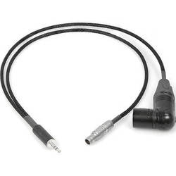 "Remote Audio Breakout 3.5mm TRS to 5-Pin LEMO & XLR5M RA for Zaxcom (18"")"