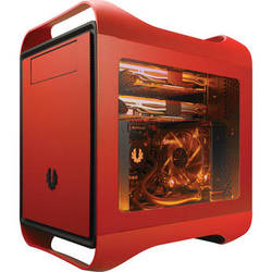 BitFenix Prodigy M Color Chassis with Window (Fire Red)
