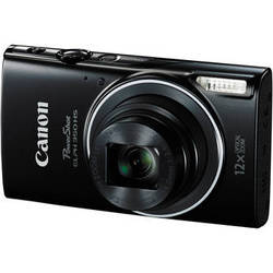 Canon Powershot ELPH 350 HS Digital Camera (Black)