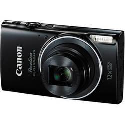 Canon Powershot ELPH 350 HS Digital Camera (Black)