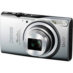 Canon Powershot ELPH 350 HS Digital Camera (Silver)