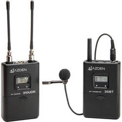 Azden 310LT UHF On-Camera Lavalier System