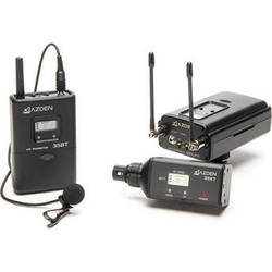 Azden 330LX UHF On-Camera Plug-In & Bodypack System