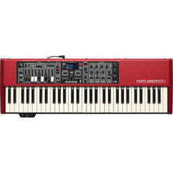 Nord Electro 5D - 61-Key Semi-Weighted Waterfall Keyboard