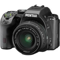 Pentax K-S2 DSLR Camera with 18-50mm Lens (Black)