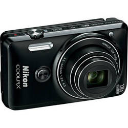 Nikon COOLPIX S6900 Digital Camera (Black)