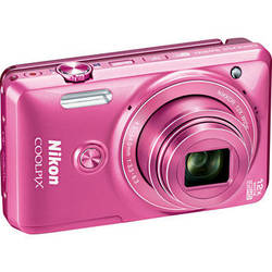 Nikon COOLPIX S6900 Digital Camera (Pink)